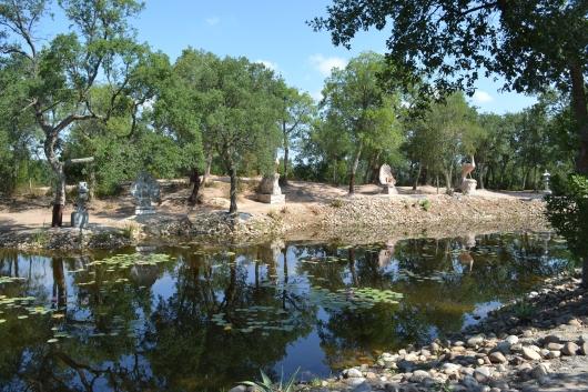 o lago dos pavões